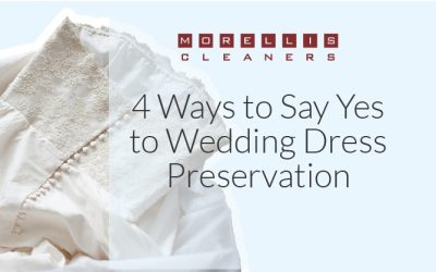 4 Ways to Say Yes to Wedding Dress Preservation