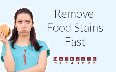 How to Remove Food Stains Fast