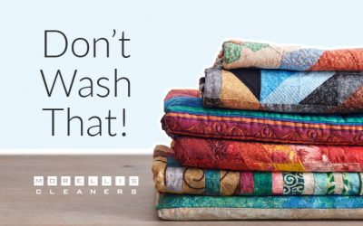Don't Wash That! Always Take These 5 Things to the Dry Cleaners