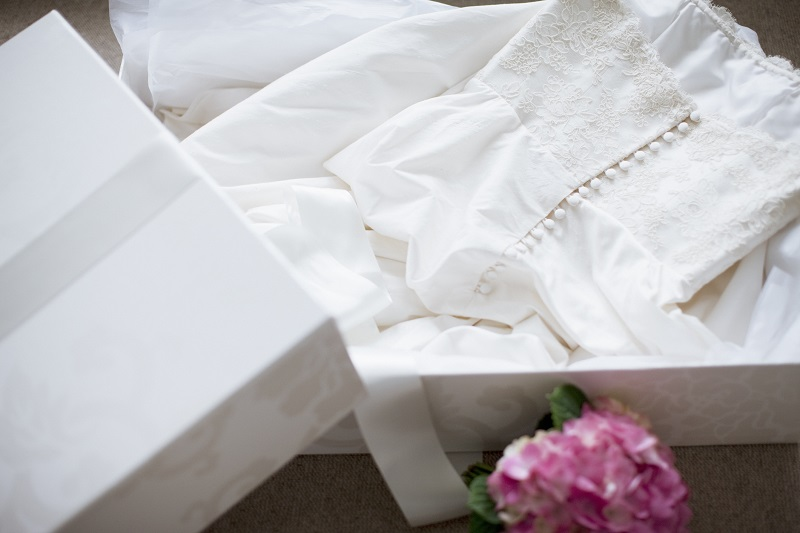 wedding dress preservation is key for wedding dress care