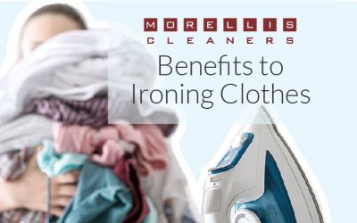 4 Benefits to Ironing Clothes